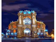 Города мира и Украины: картины без коробки Оперный театр. Одесса