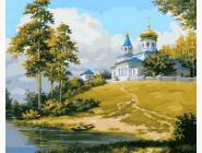 Пейзаж и природа Церковь на холме