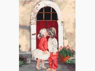 Ангелы и дети Первый поцелуй