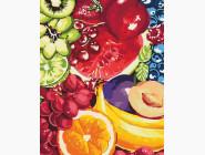 Цветы, натюрморты, букеты Аппетитные фрукты