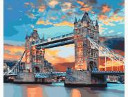 Городской пейзаж Лондонский мост на рассвете