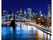 картина по номерам Огни Нью-Йорка