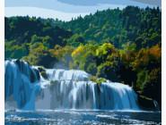 Прекрасный водопад