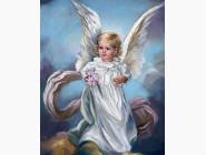 Дети, материнство Ангел с цветами
