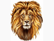 Животные и рыбки Царственный лев