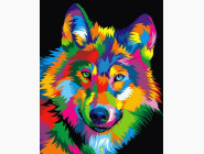 Радужный волк