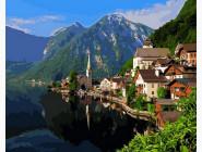 Летняя Альпийская деревня