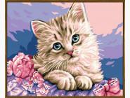 Милый котик (в раме)