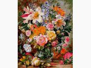Цветы, натюрморты, букеты Букет из роз и лилий