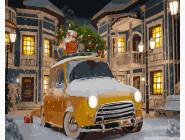 Такси спешит на праздник