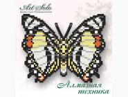 Бабочка магнит в алмазной технике Благородный харакс
