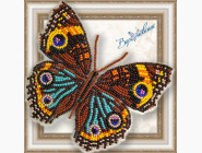 Вышивка бисером Бабочка из бисера на пластиковой основе Прецис Лавиния