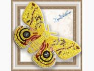 Бабочка из бисера на пластиковой основе Сатурния ио