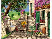 Каменный дворик