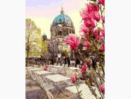 Городской пейзаж MR-Q2189 Картина раскраска Берлинский собор Mariposa