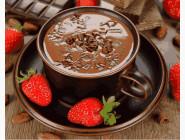 Клубничный шоколад
