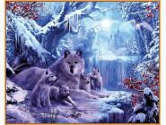 Волчья зима (в раме)