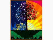 Дерево счастья (в раме)
