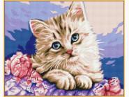 Алмазная вышивка  Babylon Милый котик (ST118, На подрамнике)