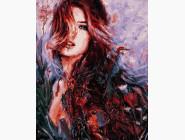 Портреты, люди на картинах по номерам В красках лета