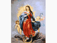 Иконы и религия: картины без коробки Дева Мария