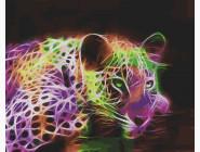 Неоновый леопард