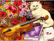 Котик и скрипка