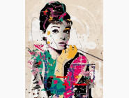 Одри Хепберн в стиле поп-арт