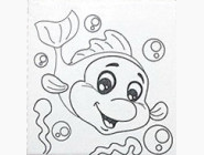 UMA473 Роспись по номерам Дельфинчик