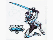 MX14218K Холст по номерам Max Steel с мечом