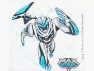 MX14216K Картина на холсте Max Steel на задании