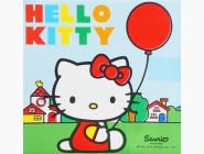 HK142162K Рисование по номерам Hello Kitty с воздушным шариком