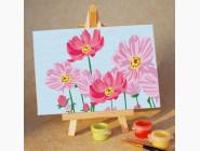MA009 Раскраска по цифрам Летние цветы
