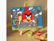 MA206 Живопись по номерам Angry Birds - 17