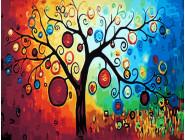 CG230 Картина по номерам Дерево богатства Babylon