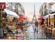 Города мира Улочка парижа