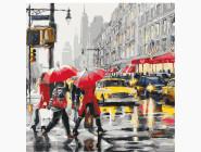 картина по номерам Осень в Нью-Йорке