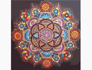 Mandala раскраски Мандала жизни