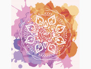 Mandala раскраски Мандала любви