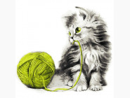 Котёнок с клубком