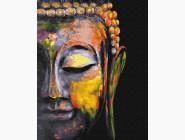 Разноцветный Будда