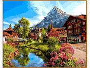 Альпийский городок