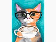 Кот и кофе