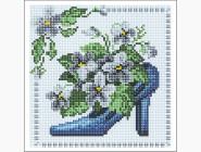 Алмазная вышивка для детей Синяя туфелька