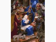 Иконы и религия: картины без коробки Рождество