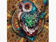 Яркая сова