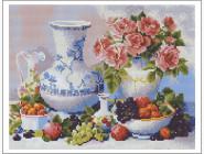 Натюрморт, фрукты и овощи Натюрморт