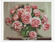 Цветы и букеты Натюрморт пионов