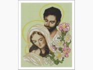 Алмазная вышивка Иконы Святое семейство