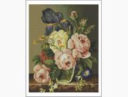 Цветы и букеты Пионы и ирисы
